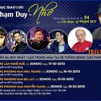 Đêm Nhạc Giao Lưu Phạm Duy - Nhớ - 2013