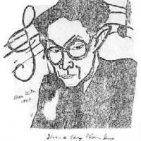 Phan Kế An vẽ tôi khi đang cùng học trường Mỹ Thuật