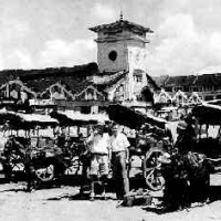 Xe thổ mộ - Chợ Bến Thành - Ngày xa xưa