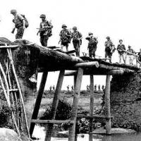 Quân Pháp hành quân vùng Việt Bắc