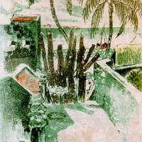 Tranh do Phạm Văn Đôn vẽ