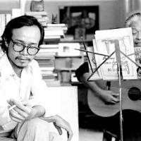 Hai thế hệ ca nhân, tại tư gia Phạm Duy, Saigon 1970