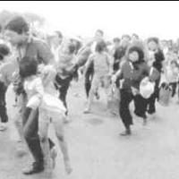 Xuân Lộc, dân chúng chạy loạn...