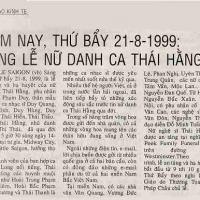 Đám tang Thái Hằng