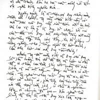 Thư ns Phạm Duy gửi nhà văn Tạ Tỵ trong quyển
